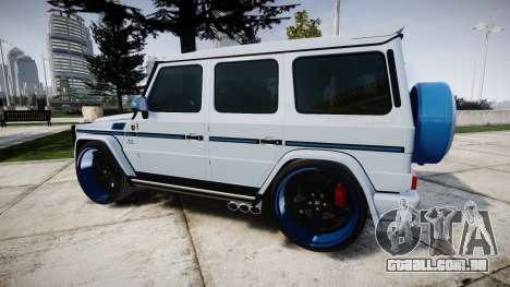Mercedes-Benz G55 AMG Grand Edition Hamann para GTA 4 esquerda vista