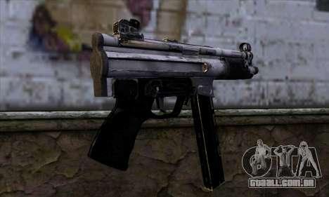 Tec9 from Call of Duty: Black Ops para GTA San Andreas segunda tela