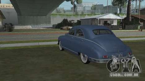 Packard Touring  Sedan para GTA San Andreas esquerda vista
