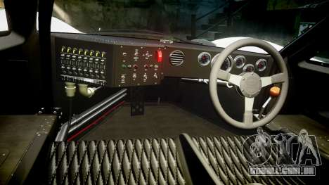 Ford GT40 Mark IV 1967 PJ RAPA olio 9 para GTA 4 vista de volta