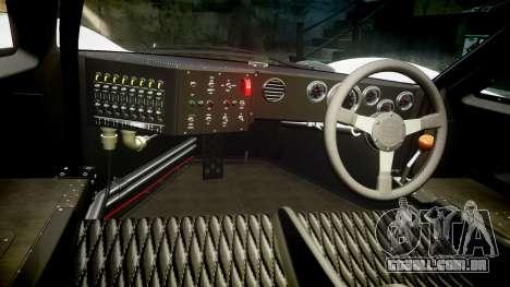 Ford GT40 Mark IV 1967 PJ Mixlub 21 para GTA 4 vista de volta