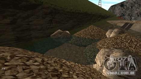 Трасса Offroad v1.1 por Rappar313 para GTA San Andreas oitavo tela