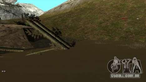 Трасса Offroad v1.1 por Rappar313 para GTA San Andreas décima primeira imagem de tela