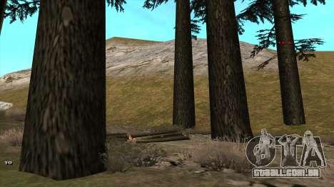 Трасса Offroad v1.1 por Rappar313 para GTA San Andreas terceira tela