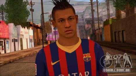 Neymar Skin para GTA San Andreas terceira tela