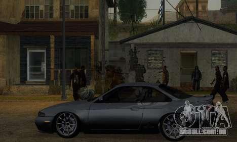 Nissan Silvia S14 Zenki Drift para GTA San Andreas traseira esquerda vista