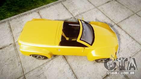 Chevrolet SSR para GTA 4 vista direita