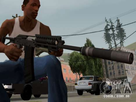 Heavy Shotgun GTA 5 (1.17 update) para GTA San Andreas