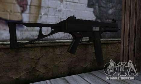 UMP45 v2 para GTA San Andreas segunda tela