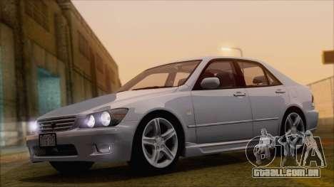 Toyota Altezza (RS200) 2004 (HQLM) para GTA San Andreas