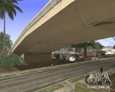 Textura Los Santos de GTA 5 para GTA San Andreas terceira tela