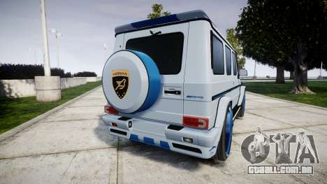 Mercedes-Benz G55 AMG Grand Edition Hamann para GTA 4
