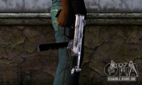 Tec9 from Call of Duty: Black Ops para GTA San Andreas terceira tela