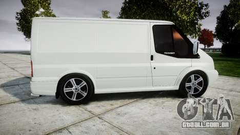 Ford Transit 2011 SuperSportVan para GTA 4 esquerda vista