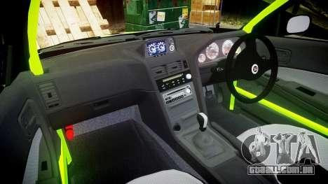 Nissan Skyline R34 GT-R V-Spec [RIV] para GTA 4 vista de volta