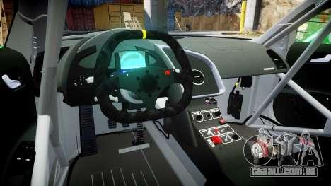 Audi R8 LMS Sharpie para GTA 4 vista de volta