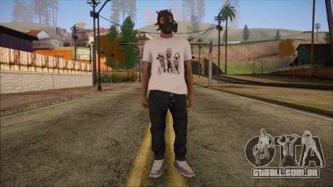 GTA 5 Online Skin 7 para GTA San Andreas