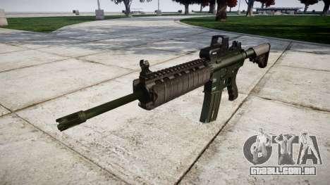 Máquina M4A1-alvo para GTA 4
