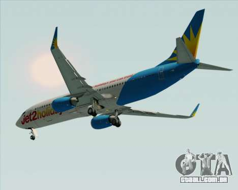 Boeing 737-800 Jet2Holidays para GTA San Andreas