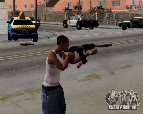 Heavy Shotgun GTA 5 (1.17 update) para GTA San Andreas terceira tela