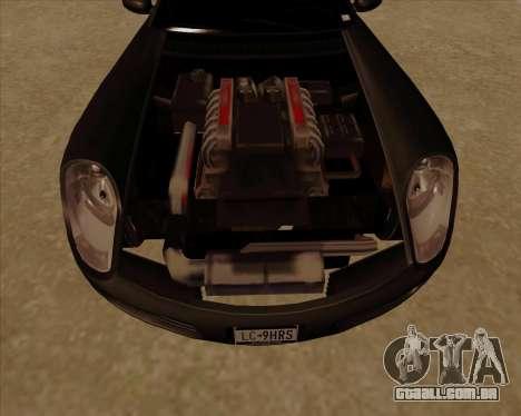 Stinger para GTA San Andreas vista interior