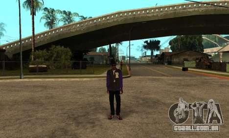 The Ballas Skin Pack para GTA San Andreas terceira tela