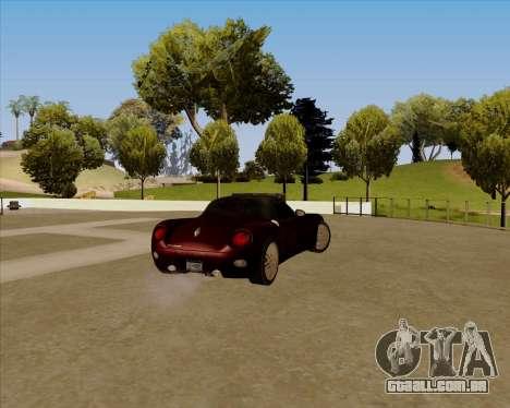 Stinger para GTA San Andreas esquerda vista