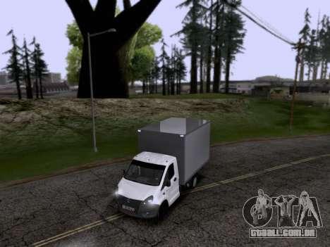Gazela Seguinte para GTA San Andreas