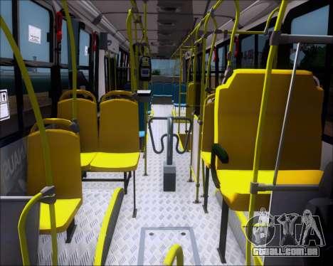 Marcopolo Torino G7 2007 VEGA Manaus 1011049 para GTA San Andreas vista interior