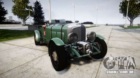 Bentley Blower 4.5 Litre Supercharged [low] para GTA 4