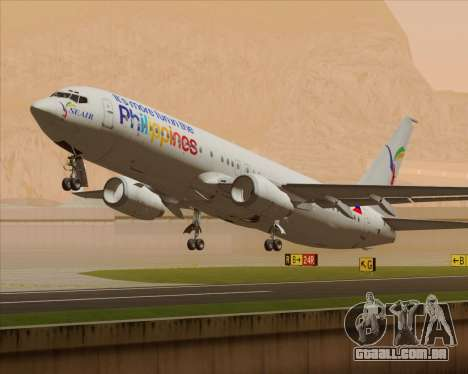 Boeing 737-800 South East Asian Airlines (SEAIR) para GTA San Andreas