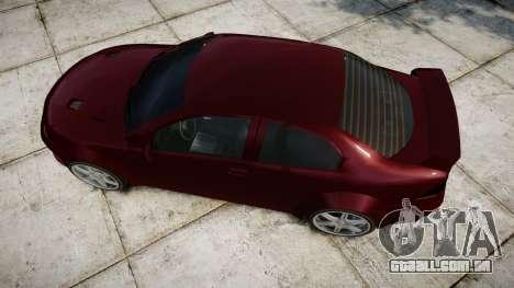 Vexter XS para GTA 4 vista direita