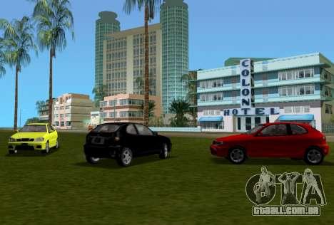 Daewoo Lanos Esporte EUA 2001 para GTA Vice City vista superior