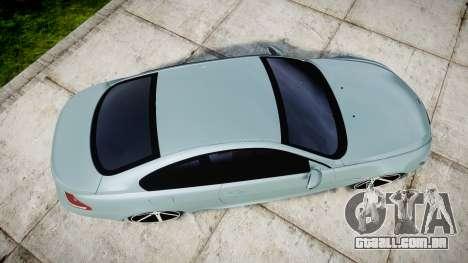 BMW M6 Vossen VVS CV3 para GTA 4 vista direita