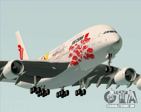 Airbus A380-800 Air China para o motor de GTA San Andreas