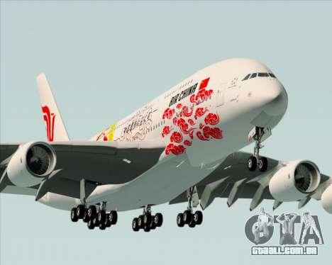 Airbus A380-800 Air China para o motor de GTA San Andreas