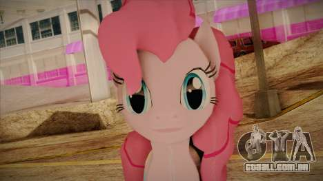 Pinkie Pie from My Little Pony para GTA San Andreas terceira tela