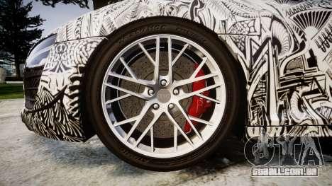 Audi R8 LMX 2015 [EPM] Sharpie para GTA 4 vista de volta