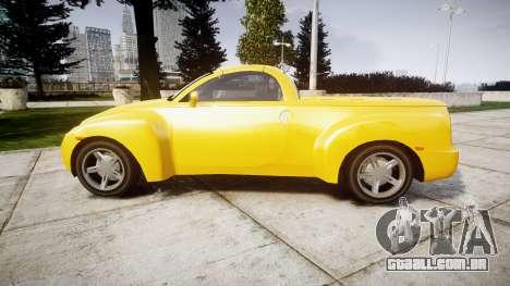 Chevrolet SSR para GTA 4 esquerda vista