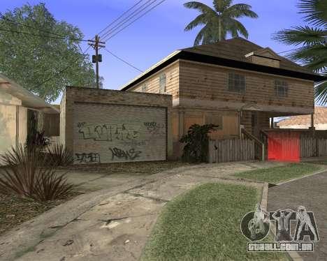Textura Los Santos de GTA 5 para GTA San Andreas quinto tela