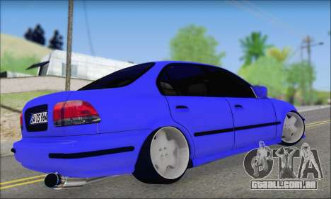 Honda Civic 34 TS 9640 INDIGO para GTA San Andreas esquerda vista