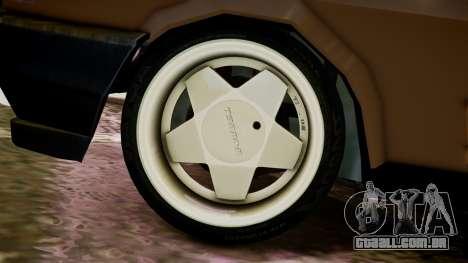 Tofas Kartal para GTA 4 traseira esquerda vista