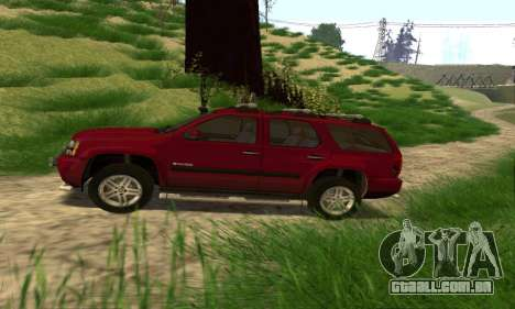 Chevrolet Tahoe Final para GTA San Andreas esquerda vista