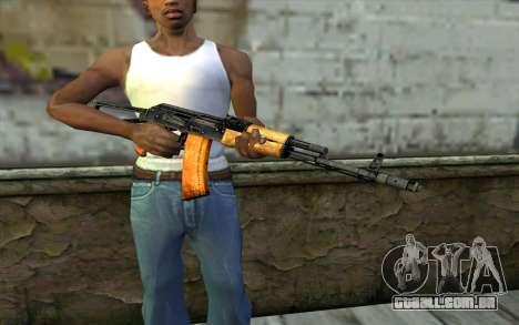 AKC74 com Bunda para GTA San Andreas terceira tela