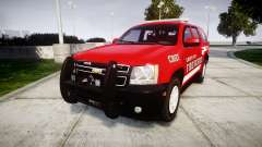 Chevrolet Tahoe Fire Chief [ELS] para GTA 4