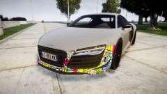 Audi R8 LMX 2015 [EPM] Sticker Bomb