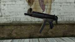 Retextured MP5 para GTA San Andreas
