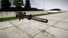American sniper rifle SR-25