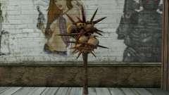 Spyked Zombie Skull Bat From Resident Evil 5