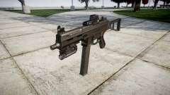 Alemão submetralhadora HK UMP 45-alvo